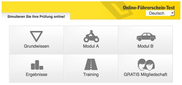 ÖAMTC Online Führerscheintest - Verkehrszeichen lernen online